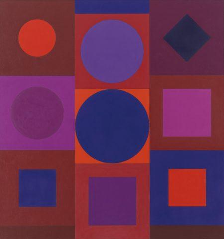 Victor Vasarely-Zador-1965