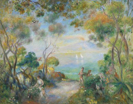 Pierre-Auguste Renoir-Un Jardin A Sorrente-1881