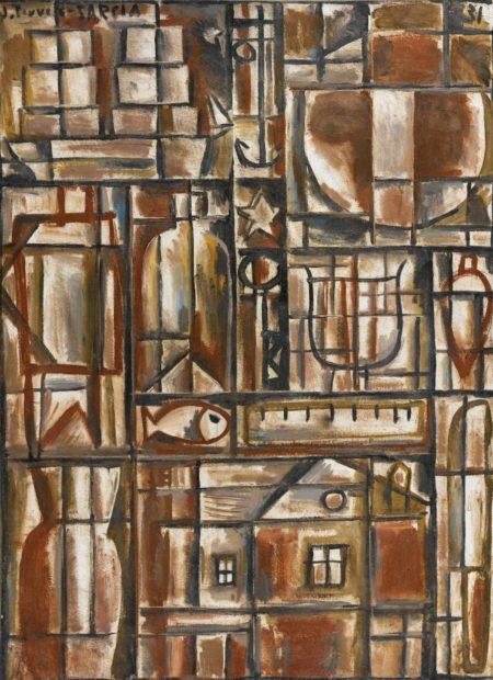 Joaquin Torres-Garcia-Peinture Constructive-1931