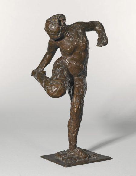 Edgar Degas-Danseuse Regardant La Plante De Son Pied Droit (Deuxieme Etude)-1937