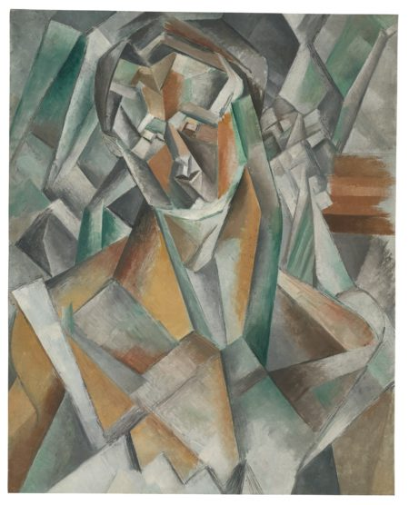 Pablo Picasso-Femme Assise-1909