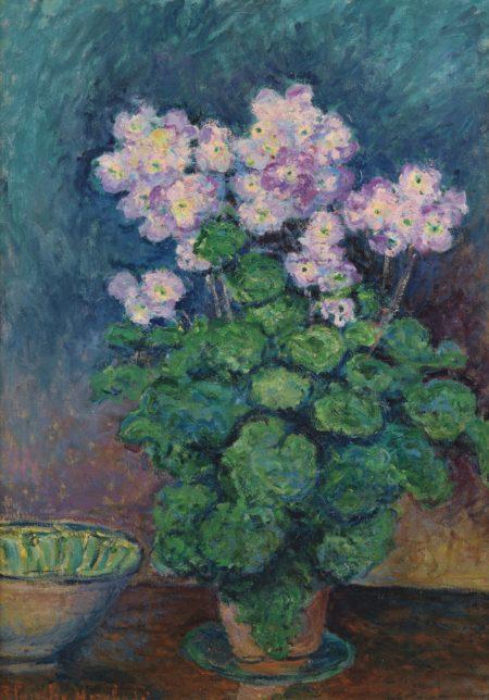 Blanche Hoschede Monet-Primeveres (Narcisses Et Primeveres)-