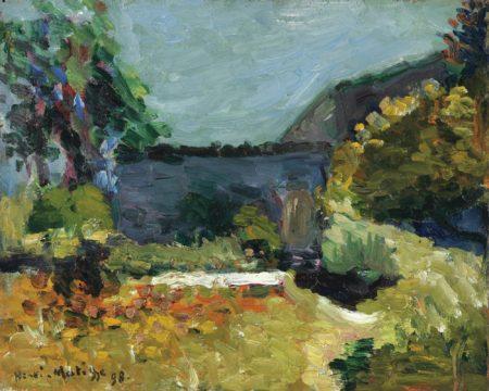 Henri Matisse-Paysage-1898