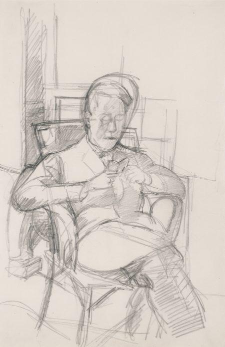 Alberto Giacometti-Bruno Lisant-1928