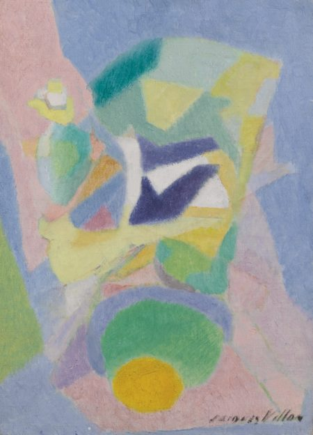 Jacques Villon-Pigeon A La Tasse-1948