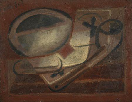 Juan Gris-L'As De Trefle-1924