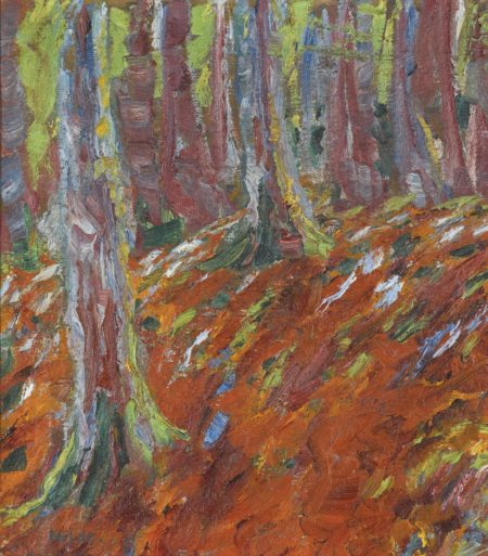 Emil Nolde-Waldboden (Forest Floor)-1906