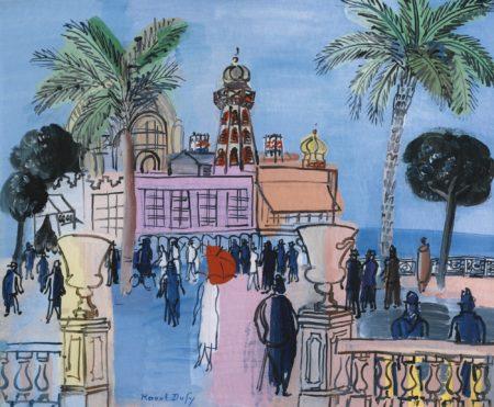 Raoul Dufy-Le Casino De Nice Aux Deux Vasques-1930