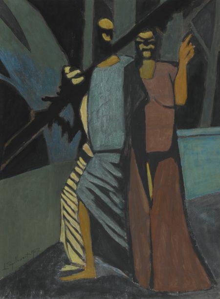 Leon Spilliaert-Carnaval, Figures Historiques-1927