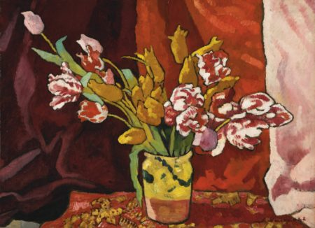 Louis Valtat-Vase De Fleurs-1942