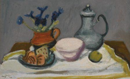 Henri Hayden-Nature Morte Au Pot D'Etain-1946