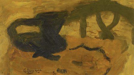 Georges Braque-Le Pichet Noir-1943