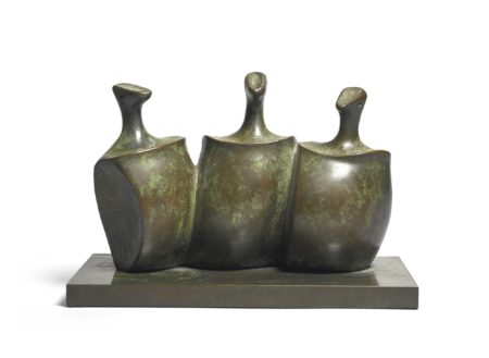Henry Moore-Three Figures-1982
