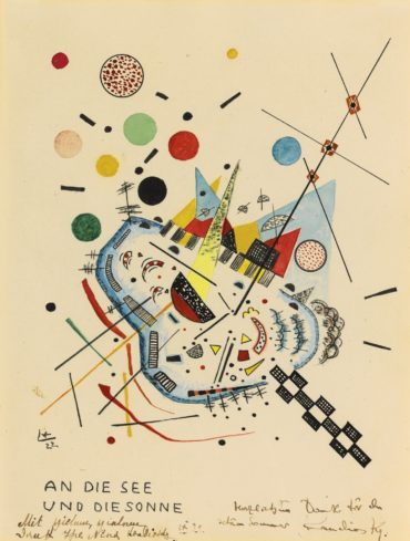 Wassily Kandinsky-An Die See Und An Die Sonne (To The Sea And The Sun)-1922