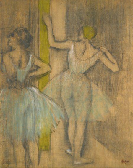 Edgar Degas-Deux Danseuses-1885