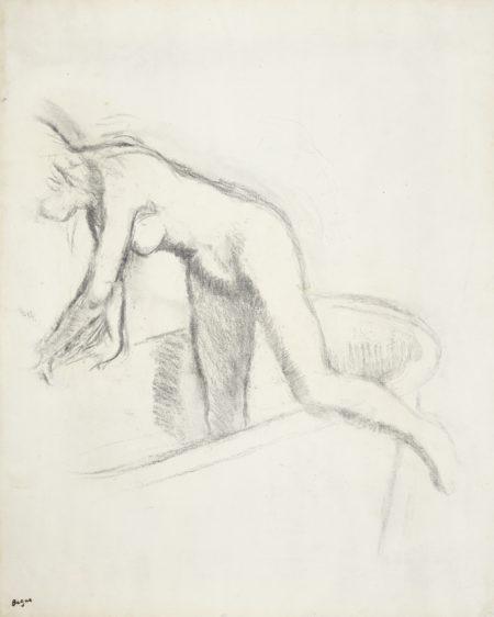 Edgar Degas-Le Bain-