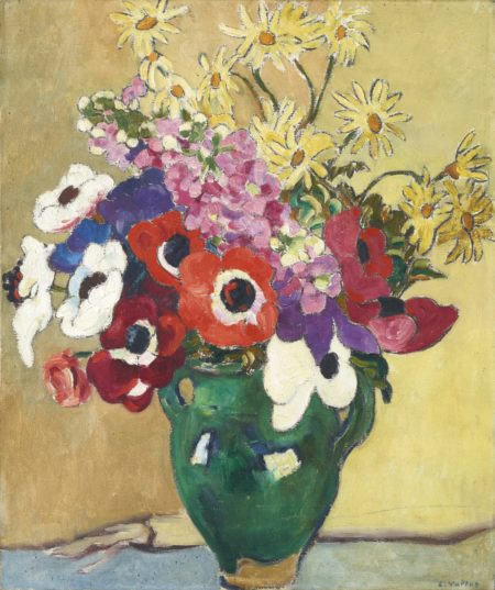 Louis Valtat-Bouquet De Fleurs-