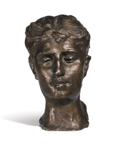 Auguste Rodin-Tete De Marie Bengesco-1920