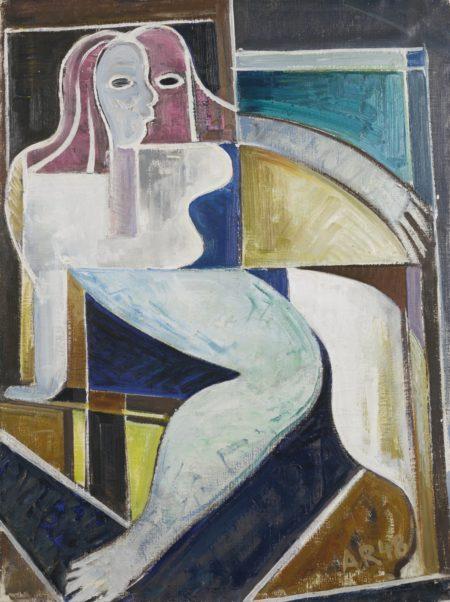 Anton Raderscheidt-Rue D'Alesia-1948