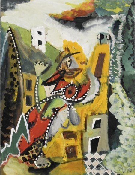 Ernst Wilhelm Nay-Dans La Campagne-1947