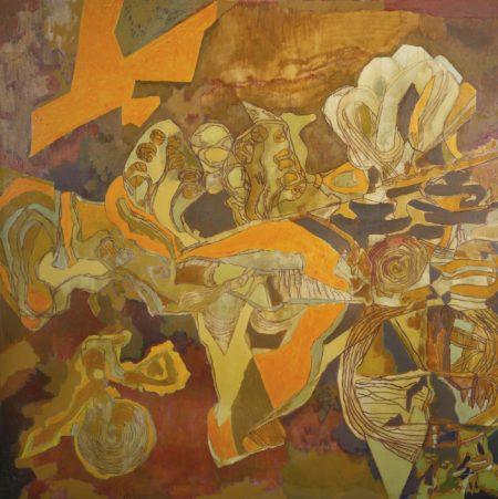 Josef Fassbender-Paysage Anatomique-1973