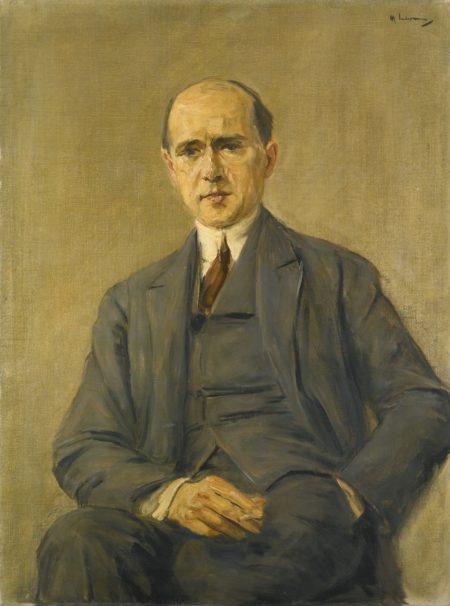 Max Liebermann-Bildnis Friedrich August Neubauer (Portrait Of Friedrich August Neubauer)-1924