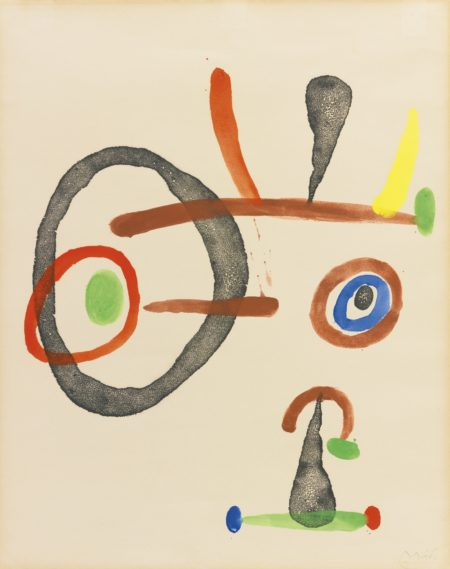 Joan Miro-Sans Titre-1965