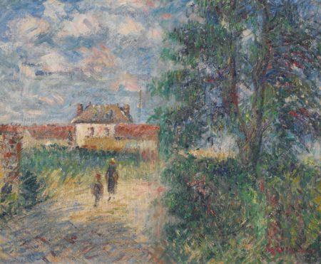 Gustave Loiseau-Paysage De Printemps-