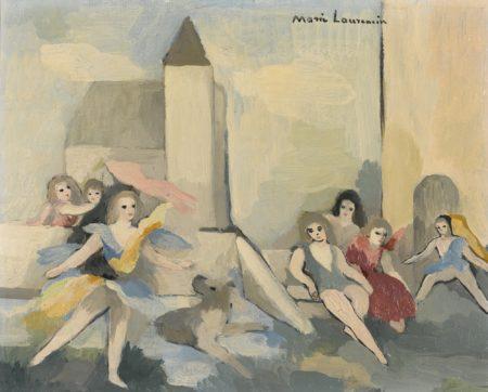 Marie Laurencin-Jeux D'Enfants-