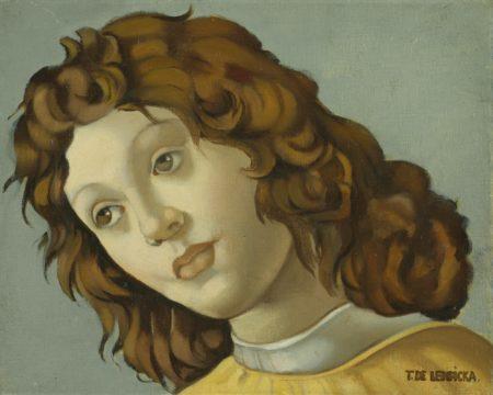 Tamara de Lempicka-Etude D'Apres Botticelli-1945
