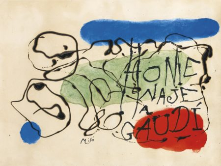 Joan Miro-HomenajeA Gaudi (Homage To Gaudi)-1959