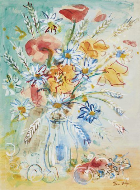 Jean Dufy-Bouquet Champetre-