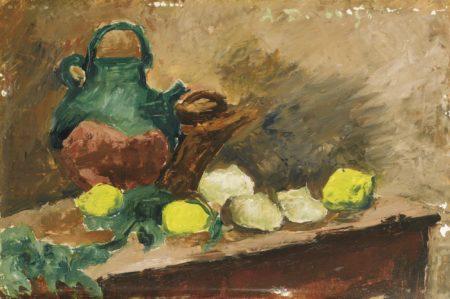 Andre Dunoyer de Segonzac-Gargoulette Et Citrons-1950
