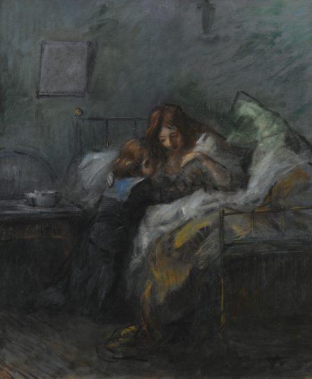 Jean Louis Forain-Le Petit Marin Or Le Petit Marin Reveillant Sa Mere-1889