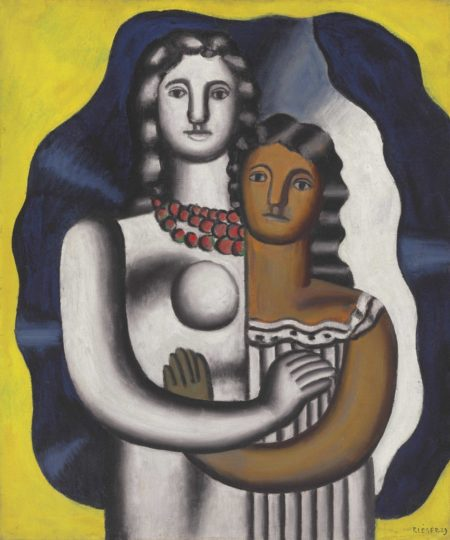 Fernand Leger-Deux figures-1929