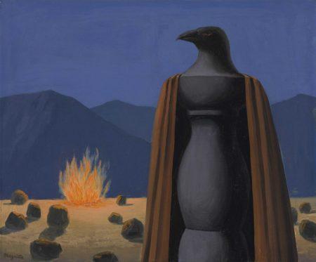 Rene Magritte-Le temps jadis-1966