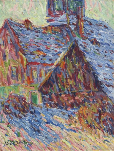 Karl Schmidt-Rottluff-Winter-1906