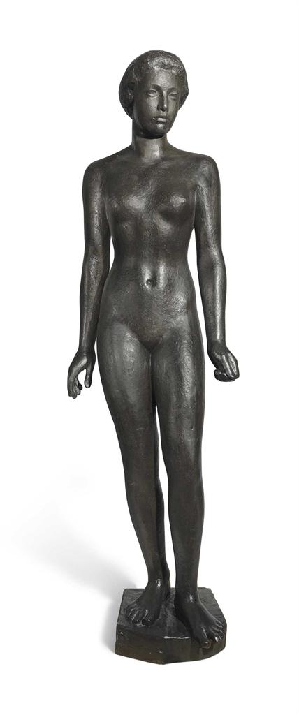 Georg Kolbe-Stehende Frau-1921