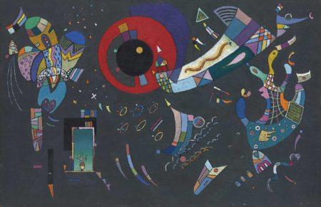 Wassily Kandinsky-Esquisse pour Autour du cercle-1940
