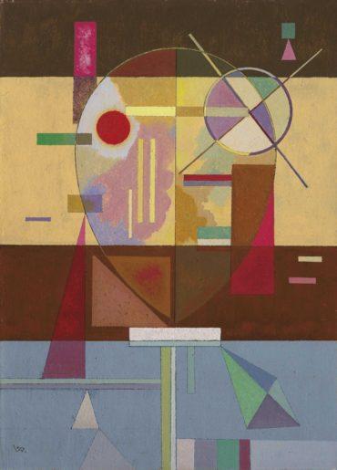 Wassily Kandinsky-Zersetzte Spannung (Disintegrated Tension)-1930