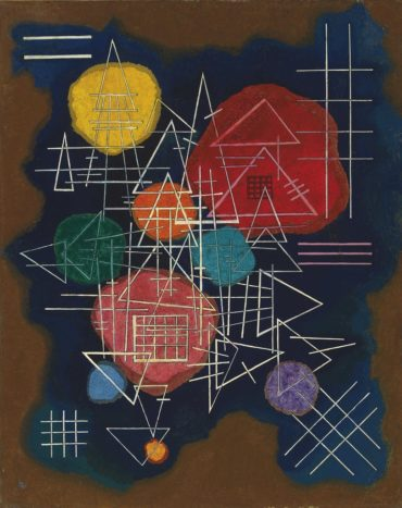 Wassily Kandinsky-Verschleiertes Gluhen (Veiled Glow)-1928
