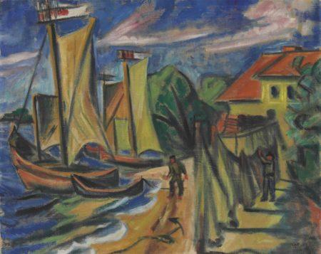 Max Pechstein-Sommermorgen-1919