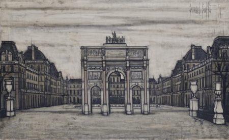 Bernard Buffet-L'Arc de Triomphe du Carrousel-1956