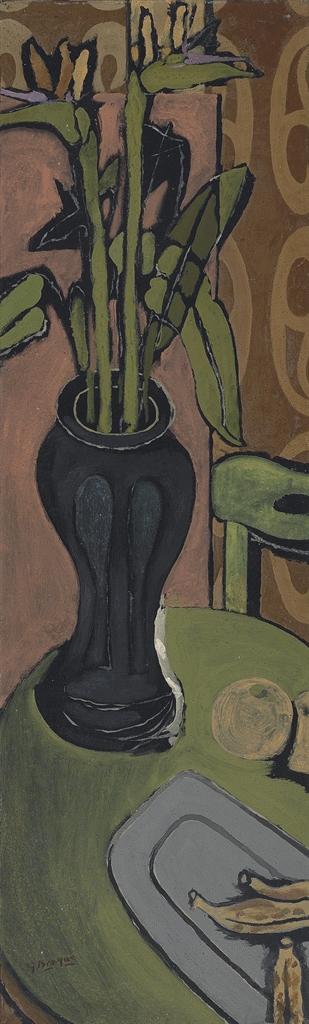 Georges Braque-Les strelitzies (Oiseaux de Paradis)-1941