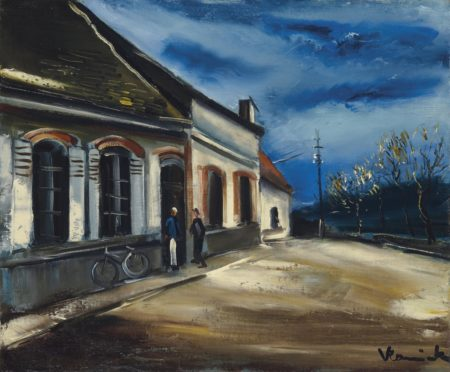Maurice de Vlaminck-Apres l'orage-1925