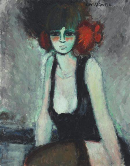 Jean-Pierre Cassigneul-Le pompom rouge-1964