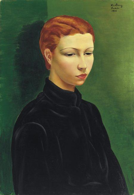Moise Kisling-Mademoiselle A.O.-1936