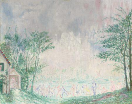 James Ensor-Le Jardin d'amour-1927