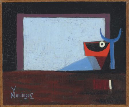 Oscar Dominguez-La porte du Torril-1950