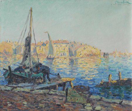 Francis Picabia-Le retour de la peche, les Martigues-1903